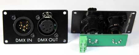 DMX512 to RC servo controller